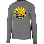'47 Men's Golden State Warriors Club Grey Long Sleeve Shirt