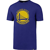 '47 Men's Golden State Warriors Splitter Logo Royal T-Shirt