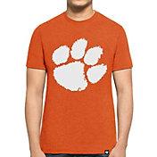 '47 Men's Clemson Tigers Orange Club T-Shirt