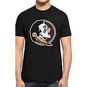 '47 Men's Florida State Seminoles Black Logo Club T-Shirt