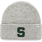 '47 Men's Michigan State Spartans Grey Brain Freeze Knit Beanie
