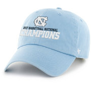 '47 Men's North Carolina Tar Heels 2017 NCAA Men's Basketball National Champions Clean Up Adjustable Hat