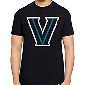 '47 Men's Villanova Wildcats Navy Logo Club T-Shirt