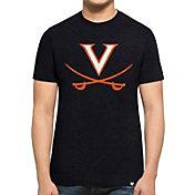 '47 Men's Virginia Cavaliers Blue Logo Club T-Shirt