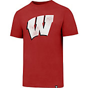 '47 Men's Wisconsin Badgers Red Knockaround Club T-Shirt