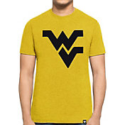 '47 Men's West Virginia Mountaineers Gold Logo Club T-Shirt