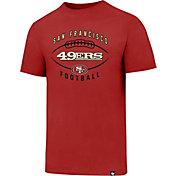 '47 Men's San Francisco 49ers Club Football Red T-Shirt