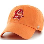 '47 Men's Tampa Bay Bucaneers Legacy Clean Up Orange Adjustable Hat