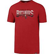 '47 Men's Tampa Bay Buccaneers Splitter Red T-Shirt