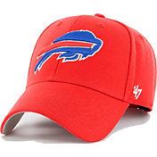 '47 Men's Buffalo Bills MVP Red Adjustable Hat
