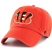 '47 Men's Cincinnati Bengals Clean Up Orange Adjustable Hat