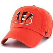 '47 Men's Cincinnati Bengals Clean Up Orange Adjustable Hat