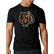'47 Men's Cincinnati Bengals Scrum Logo Black T-Shirt