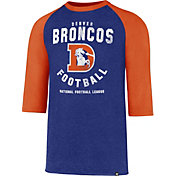 '47 Men's Denver Broncos Club Legacy Royal Raglan T-Shirt