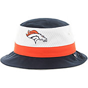 '47 Men's Denver Broncos Stripe Navy Bucket