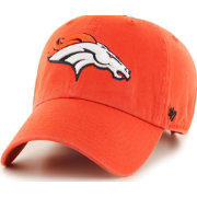 '47 Men's Denver Broncos Clean Up Orange Adjustable Hat