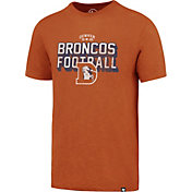 '47 Men's Denver Broncos Scrum Football Legacy Orange T-Shirt