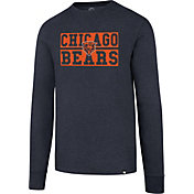'47 Men's Chicago Bears Club Navy Long Sleeve Shirt
