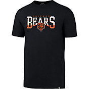 '47 Men's Chicago Bears Splitter Navy T-Shirt