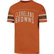 '47 Men's Cleveland Browns Title Orange T-Shirt