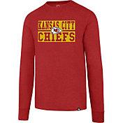 '47 Men's Kansas City Chiefs Club Red Long Sleeve Shirt