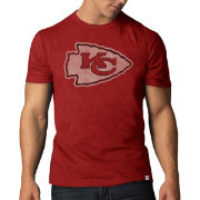 '47 Men's Kansas City Chiefs Scrum Logo Red T-Shirt