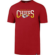 '47 Men's Kansas City Chiefs Splitter Red T-Shirt