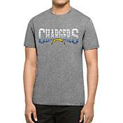 '47 Men's Los Angeles Chargers L.A. Club Grey T-Shirt