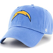 '47 Men's Los Angeles Chargers Clean Up Blue Adjustable Hat