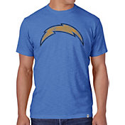 '47 Men's Los Angeles Chargers Scrum Logo Blue T-Shirt