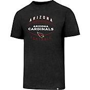 '47 Men's Arizona Cardinals Club Football Black T-Shirt