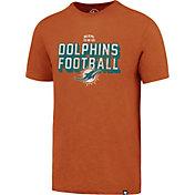 '47 Men's Miami Dolphins Scrum Football Legacy Orange T-Shirt