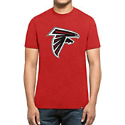 '47 Men's Atlanta Falcons Club Logo Red T-Shirt