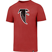 '47 Men's Atlanta Falcons Legacy Logo Club Red T-Shirt