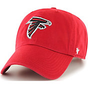 '47 Men's Atlanta Falcons Clean Up Red Adjustable Hat
