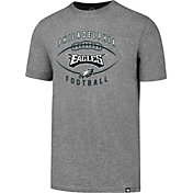 '47 Men's Philadelphia Eagles Club Football Grey T-Shirt