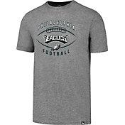 '47 Men's Philadelphia Eagles Club Football Grey T-Shirt