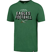 '47 Men's Philadelphia Eagles Scrum Football Legacy Green T-Shirt