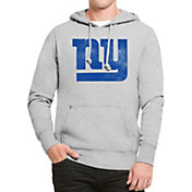 '47 Men's New York Giants Headline Grey Pullover Hoodie