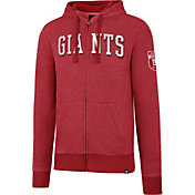 '47 Men's New York Giants Top Grain Red Full-Zip Hoodie