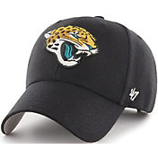 '47 Men's Jacksonville Jaguars MVP Black Adjustable Hat