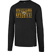 '47 Men's Jacksonville Jaguars Club Black Long Sleeve Shirt