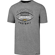 '47 Men's Jacksonville Jaguars Club Football Grey T-Shirt