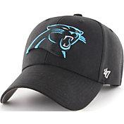 '47 Men's Carolina Panthers MVP Black Adjustable Hat