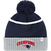 '47 Men's Super Bowl LI Champions New England Patriots Multi-Champions Navy Knit