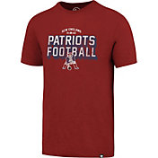 '47 Men's New England Patriots Scrum Football Legacy Red T-Shirt