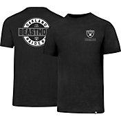 '47 Men's Oakland Raiders Beast Mode Backer Club Black T-Shirt
