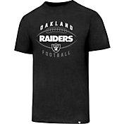 '47 Men's Oakland Raiders Club Football Black T-Shirt