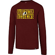 '47 Men's Washington Redskins Club Red Long Sleeve Shirt