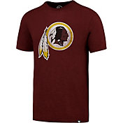 '47 Men's Washington Redskins Scrum Logo Red T-Shirt